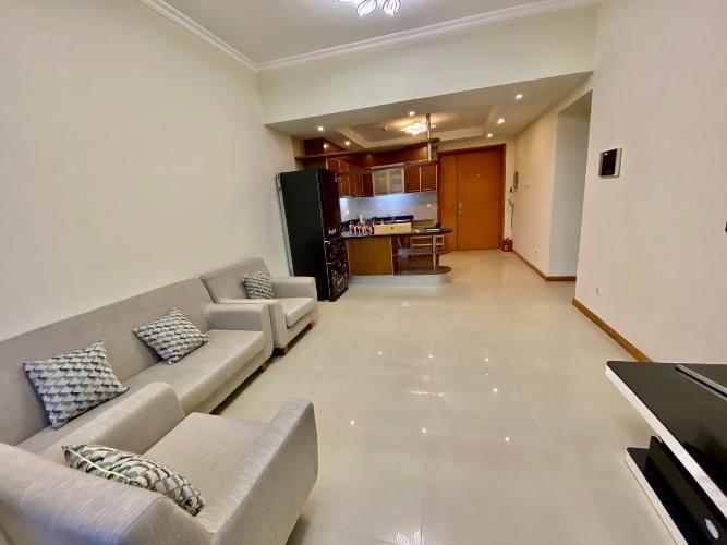 Phòng khách căn hộ Saigon Pearl, Bình Thạnh Căn hộ Saigon Pearl nội thất đầy đủ, view Landmark 81 tuyệt đẹp.