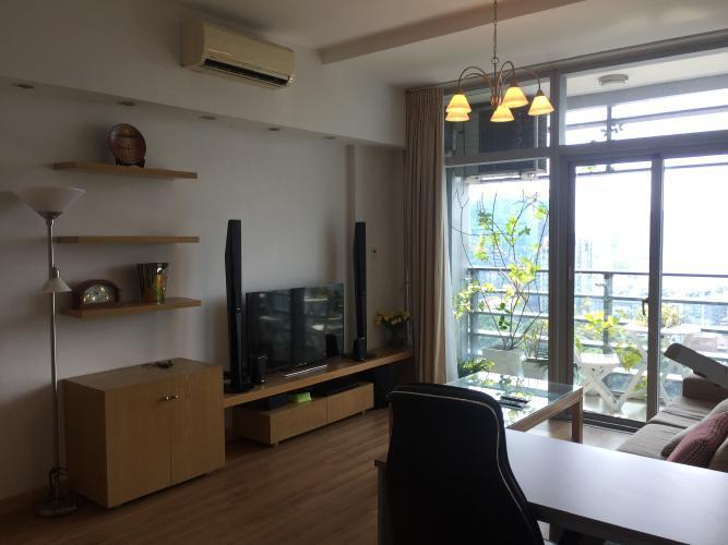 Phòng khách  căn hộ Sailing Tower Căn hộ cao cấp Sailing Tower view thành phố sầm uất, đầy đủ nội thất.