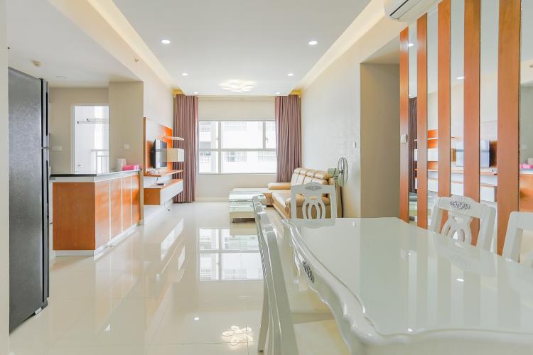 Căn hộ Sunrise City tầng thấp W3 thiết kế 2 phòng ngủ thông thoáng