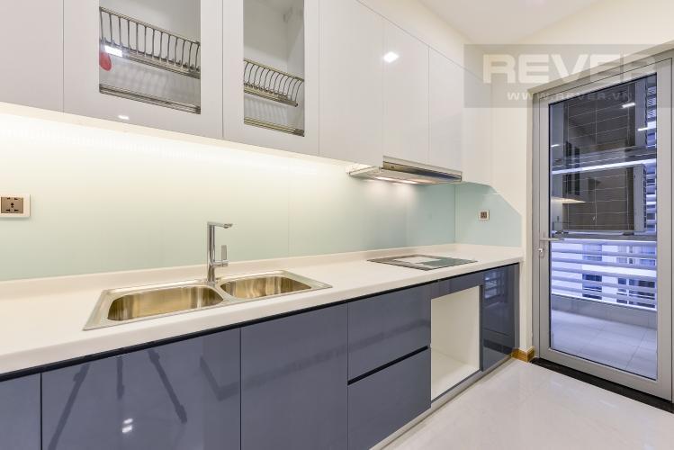 Bếp Căn hộ Vinhomes Central Park 2 phòng ngủ tầng cao P3 view sông