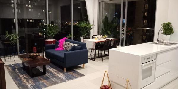 Cho thuê căn hộ Diamond Island - Đảo Kim Cương 2PN, diện tích 80m2, đầy đủ nội thất, căn góc view thoáng