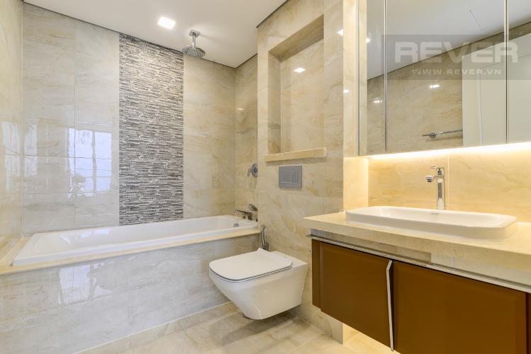 Phòng Tắm 1 Cho thuê căn hộ Vinhomes Golden River tầng cao 3PN view sông