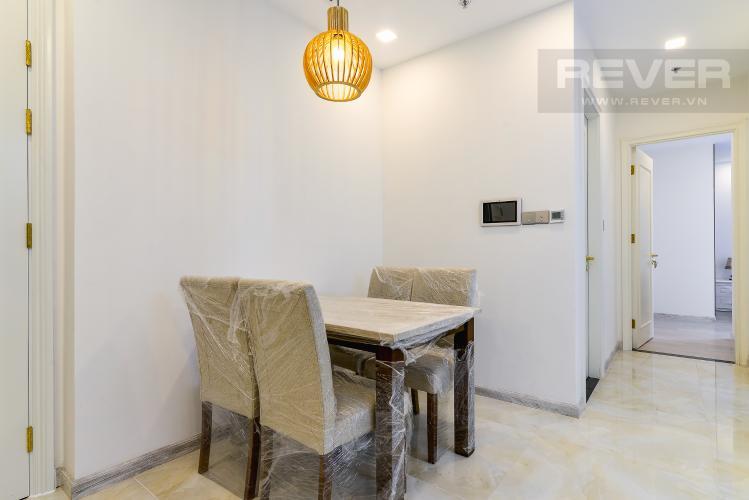 Phòng Ăn Căn hộ Vinhomes Golden River 2PN, đầy đủ nội thất, view hồ bơi và sông Sài Gòn