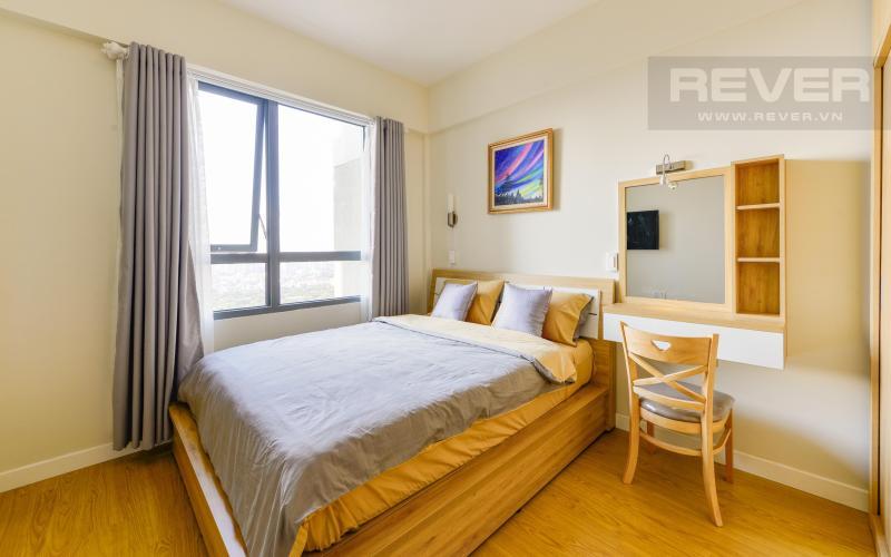 Phòng ngủ Căn góc Masteri Thảo Điền 2 phòng ngủ tầng cao T1 nội thất đầy đủ