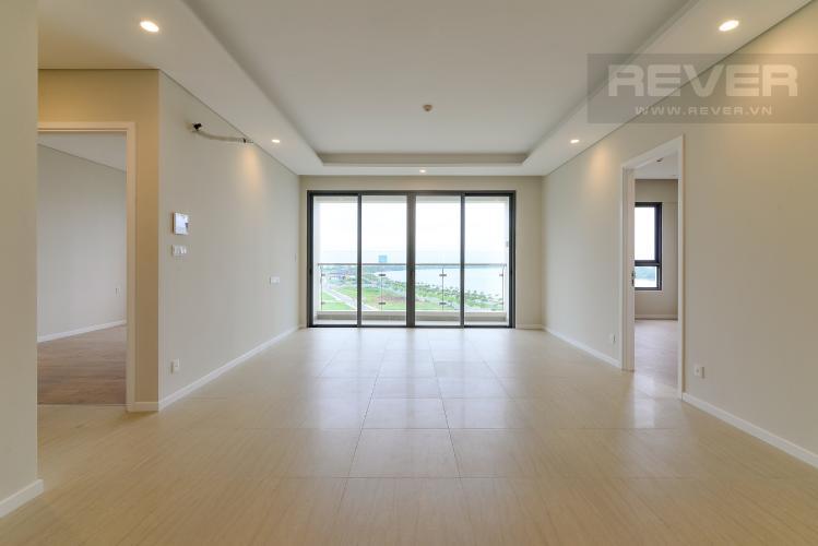 Phòng Khách Bán hoặc cho thuê căn hộ Diamond Island 2PN, tầng thấp, tháp Bora Bora, view sông và hướng Đông Nam đón gió