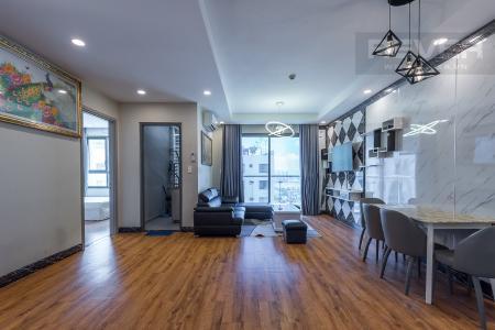 Bán căn hộ The Gold View 2PN, tầng 24, nội thất cơ bản, view kênh Bến Nghé