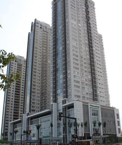 Toàn cảnh Sunrise Cityview, Quận 7 Office-tel Sunrise Cityview nội thất cơ bản, view thành phố.