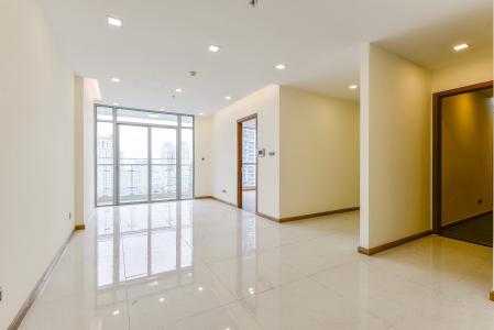 Officetel Vinhomes Central Park 2 phòng ngủ tầng trung P7 nhà trống