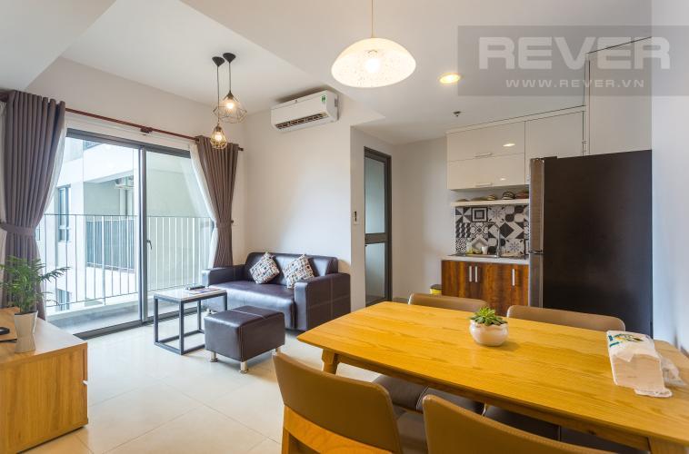 Tổng Quan Cho thuê căn hộ Masteri Thảo Điền tầng trung, 2PN, tháp T1, đầy đủ nội thất