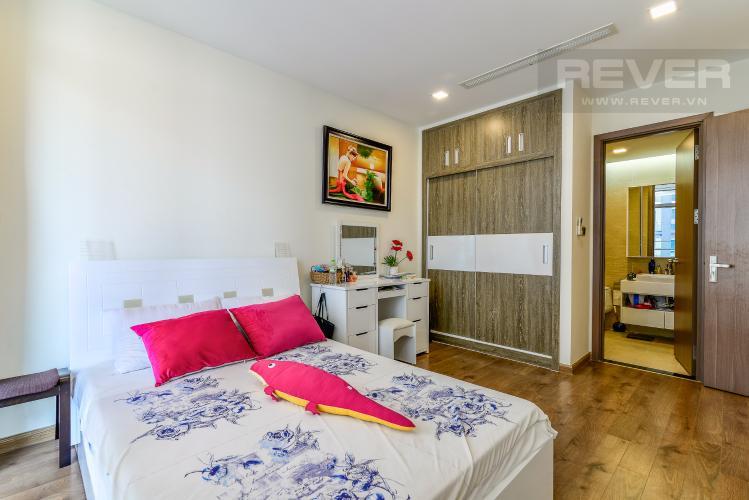Phòng Ngủ 1 Căn hộ Vinhomes Central Park tầng trung view sông 2PN, full nội thất