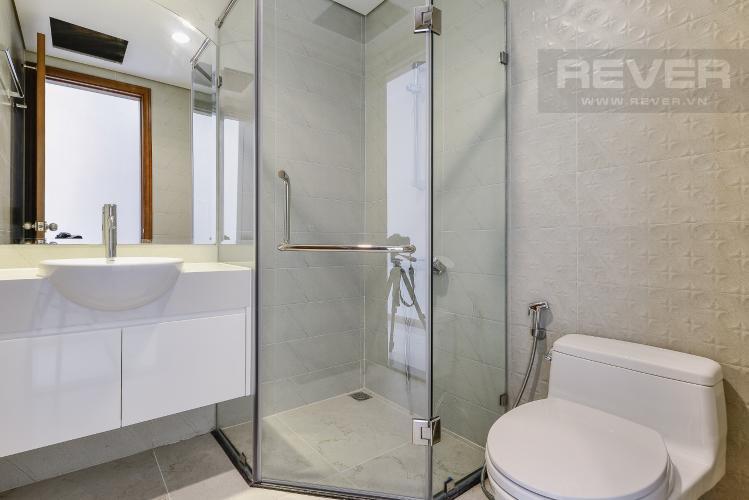Phòng tắm 2 Căn góc Vinhomes Central Park tầng thấp Central 1 nội thất cơ bản