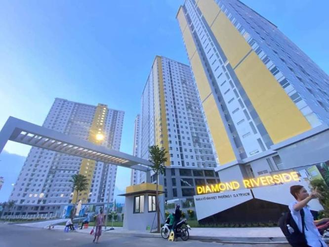 Tòa nhà Diamond Riverside, Quận 8 Căn hộ Diamond Riverside tầng trung, view thành phố sầm uất.