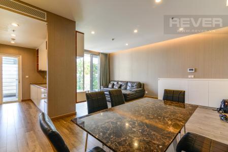 Cho thuê căn hộ Sarimi Sala Đại Quang Minh 3PN, đầy đủ nội thất, view công viên xanh mát