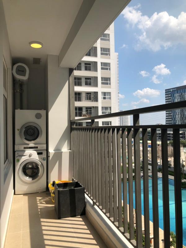 can-ho-SUNRISE-RIVERSIDE Bán căn hộ Sunrise Riverside 3PN, đầy đủ nội thất, ban công hướng Đông, căn góc view hồ bơi