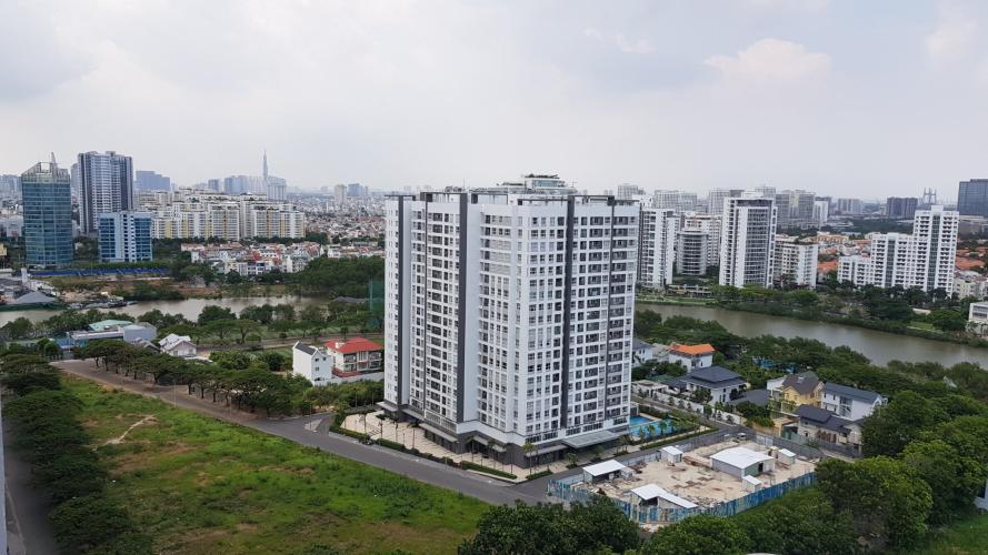 View căn hộ Saigon South Residence Căn hộ Saigon South Residence tầng cao, đầy đủ nội thất hiện đại