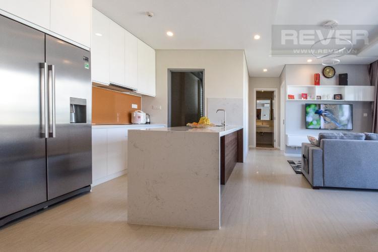 Nhà Bếp Cho thuê căn hộ Diamond Island - Đảo Kim Cương  2PN 2WC, đầy đủ nội thất, view hướng sông và nội khu