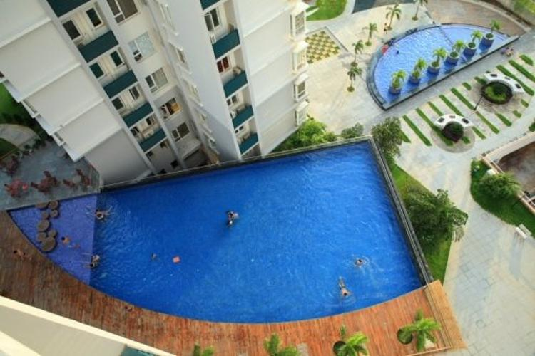 Chung cư Phú Mỹ Căn hộ chung cư Phú Mỹ 3 phòng ngủ, view thành phố nội thất đầy đủ.