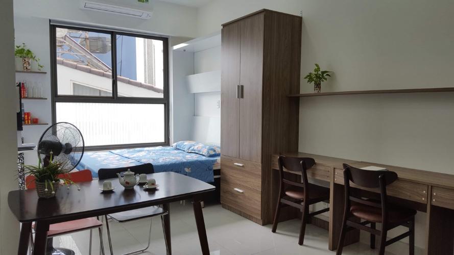 Phòng ngủ Kingston Residence, Phú Nhuận Căn hộ Officetel Kingston Residence đầy đủ nội thất tiện nghi.