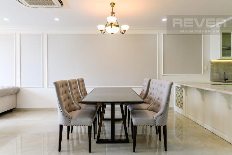Phòng Ăn Cho thuê căn hộ tầng cao Léman Luxury Apartments, 2PN, đầy đủ nội thất