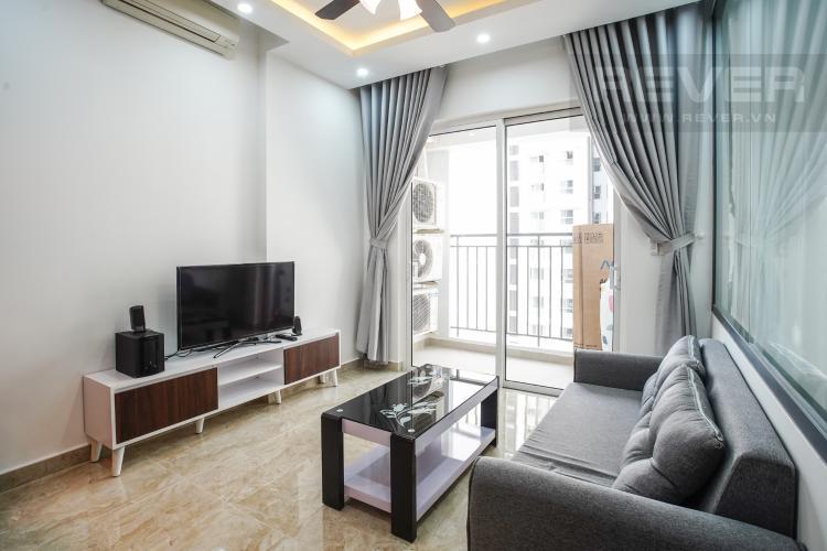 Phòng Khách Cho thuê căn hộ Sunrise Riverside 2PN, tầng thấp, diện tích 70m2, đầy đủ nội thất