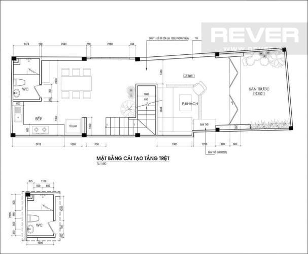 Thông Tin Bán nhà phố 3PN, đường Đoàn Văn Bơ, Quận 4, diện tích 72m2, sổ đỏ chính chủ