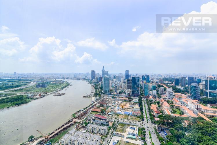 View Phòng Ngủ Cho thuê căn hộ tầng cao Vinhomes Golden River, 3PN, view sông Sài Gòn