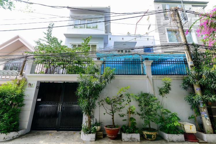Mặt Tiền Nhà Bán nhà phố 5 phòng ngủ tại Thảo Điền Quận 2, diện tích 173 m2, đầy đủ nội thất