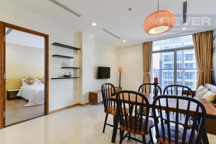 Phòng Khách Căn hộ Vinhomes Central Park 1 phòng ngủ tầng cao Landmark 1