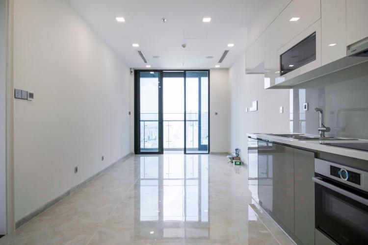 Phòng Khách Officetel Vinhomes Golden River 1 phòng ngủ tầng cao Aqua 3 nhà trống
