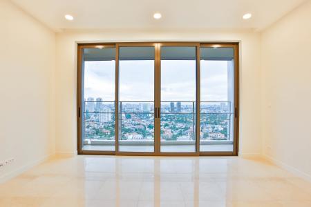 Căn hộ Nassim Thảo Điền nằm ở tầng cao, tháp B, gồm 2 phòng ngủ, view sông