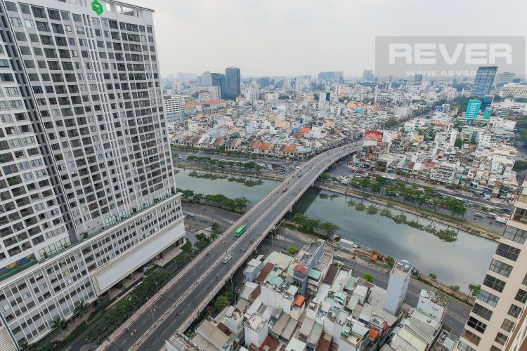 View Cho thuê căn hộ Masteri Millennium 1PN 1WC, đầy đủ nội thất, view sông