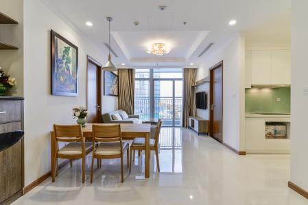 Căn hộ Vinhomes Central Park 3 phòng ngủ tầng trung L1 nội thất đầy đủ