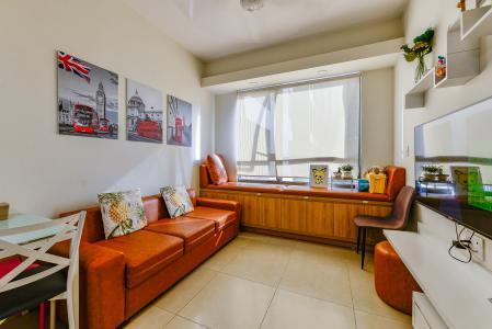 Căn hộ Masteri Thảo Điền 1 phòng ngủ tầng thấp T2 view nội khu