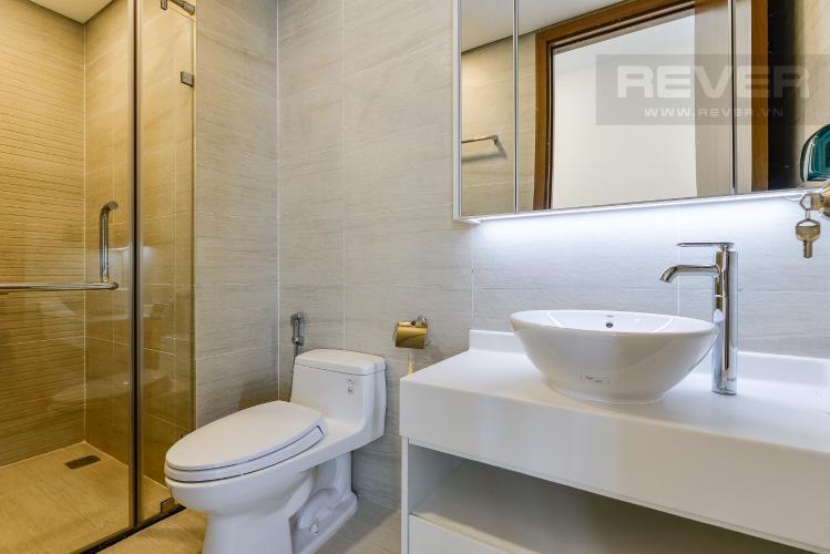 Phòng tắm 2 Căn hộ Vinhomes Central Park 2 phòng ngủ, tầng cao P6, nội thất đầy đủ