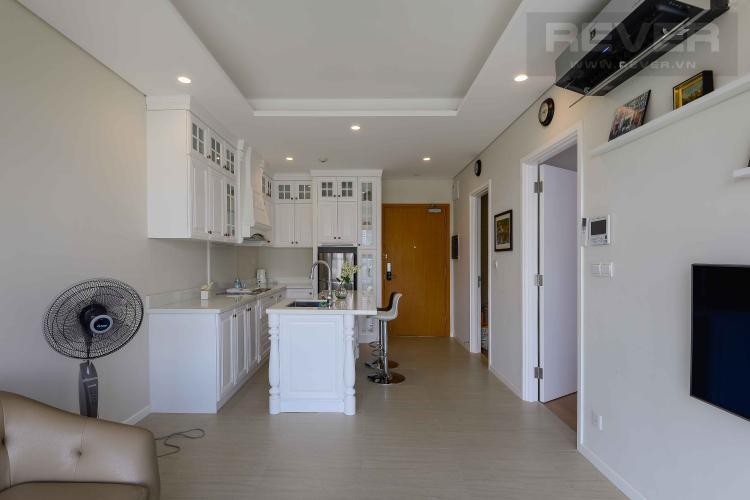 Phòng Khách Cho thuê căn hộ Diamond Island - Đảo Kim Cương 1PN, tháp Canary, đầy đủ nội thất, view sông yên tĩnh