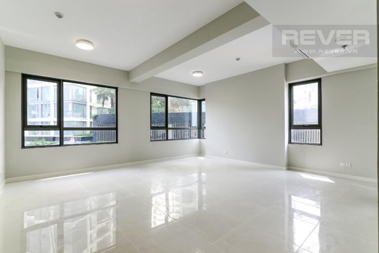 Phòng Khách Bán hoặc cho thuê căn hộ officetel Masteri An Phú, diện tích 47m2, nội thất cơ bản