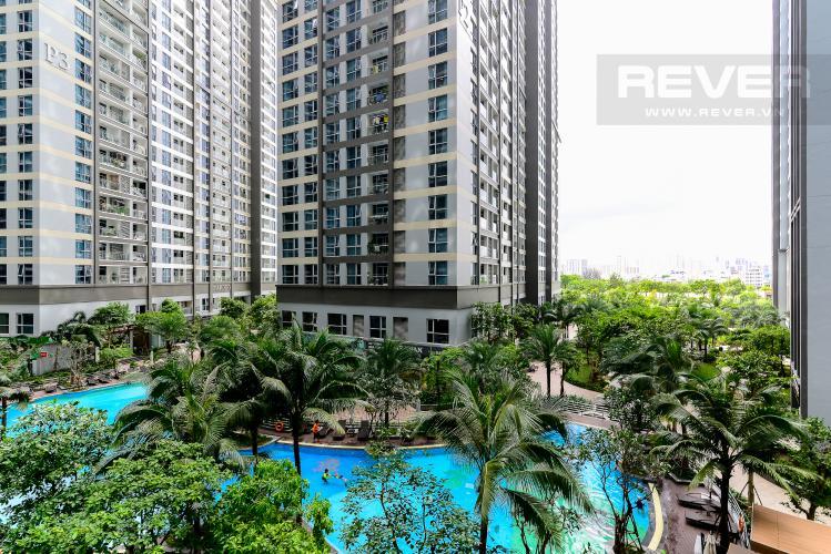 View Cho thuê căn hộ Vinhomes Central Park 3PN, tháp Park 7, đầy đủ nội thất, view hồ bơi