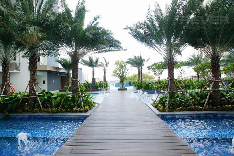 Hồ Bơi Căn hộ Nassim Thảo Điền nằm ở tầng cao, tháp B, gồm 2 phòng ngủ, view sông