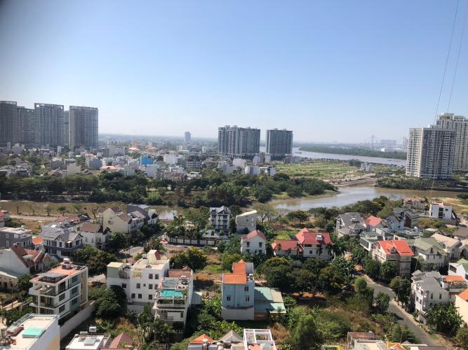 Bán căn hộ 3 phòng ngủ, nội thất cơ bản The Sun Avenue, view thành phố thoáng mát.