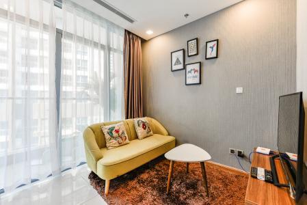 bán và cho thuê căn hộ Vinhomes Central Park tầng cao, 1PN, đầy đủ nội thất