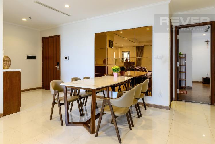 Phòng Ăn Bán căn hộ Vinhomes Central Park 4PN, tháp The Central 2, đầy đủ nội thất, view sông trực diện