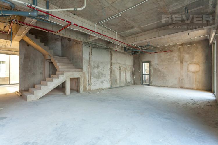 Tổng Quan Penthouse thông tầng Masteri Thảo Điền 4 phòng ngủ tòa T5