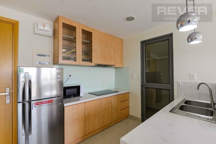 Bếp Cho thuê căn hộ Masteri Thảo Điền 2PN, tầng trung, tháp T3, hướng Tây Nam vượng khí