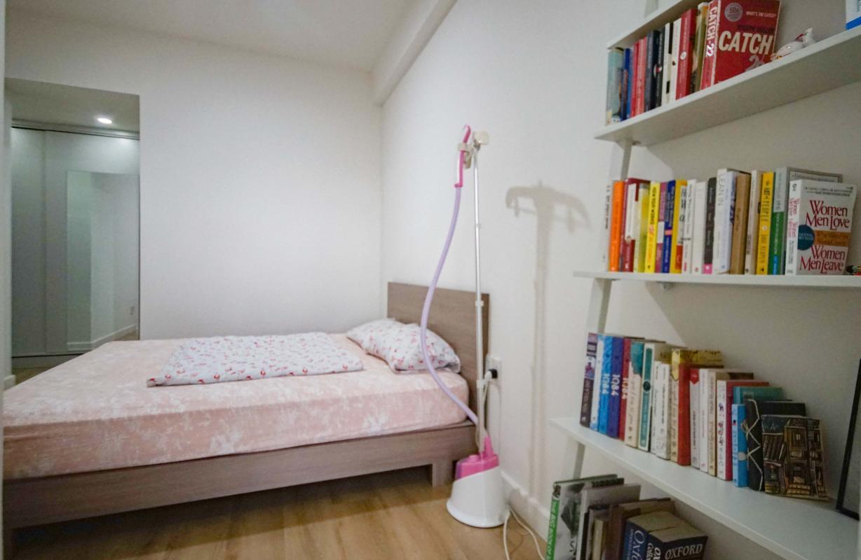 8 Cho thuê căn hộ 2 phòng ngủ Galaxy 9, tầng cao, đầy đủ nội thất, view thành phố thoáng rộng