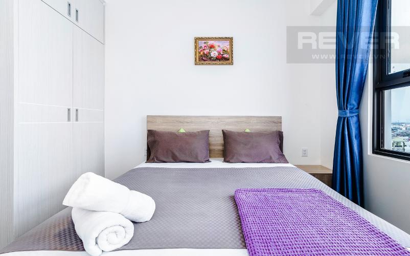 Phòng Ngủ 2 Cho thuê căn hộ M-One Nam Sài Gòn tầng trung, 2PN, đầy đủ nội thất