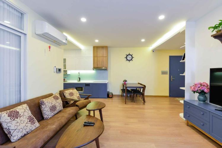 Cho thuê penthouse The Art 2PN, diện tích 103m2, đầy đủ nội thất, cửa Đông Nam, view Tây Bắc