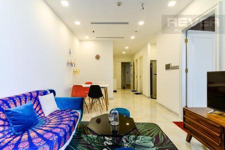Cho thuê căn hộ Vinhomes Golden River 2PN, diện tích 68m2, đầy đủ nội thất, view hồ bơi nội khu