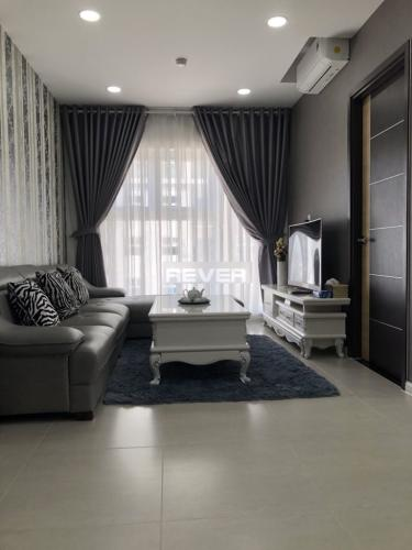 Phòng khách căn hộ Xi Grand Court, Quận 10 Căn hộ Xi Grand Court view nội khu tầng cao, nội thất đầy đủ.