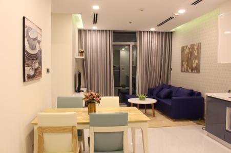 Cho thuê căn hộ Vinhomes Central Park 2PN, tháp Park 1, đầy đủ nội thất, view nội khu