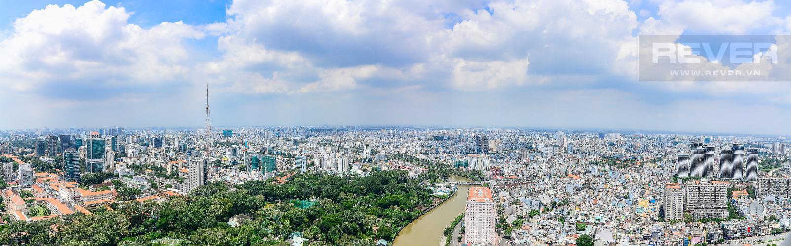 View Cho thuê căn hộ tầng cao Vinhomes Golden River, 3PN, view sông Sài Gòn